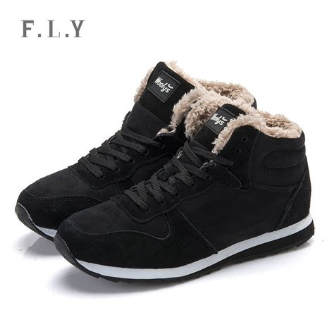 snow sneaker plus size winter warm casual sneakers lace up