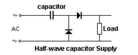 capacitor voltage half basic electronics 1a