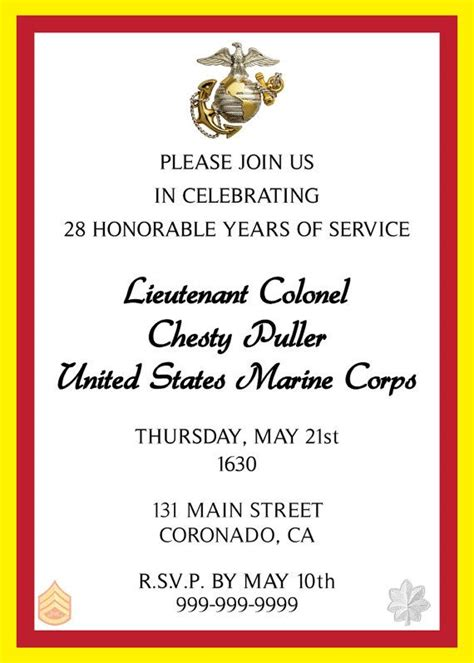 Usmc Wedding Invitations by 1000 Images About Retirement On Coins Marine