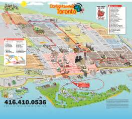 canada tourist attractions map sightseeing toronto decker city tour a hop on hop