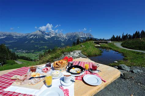 colazione in colazione in montagna