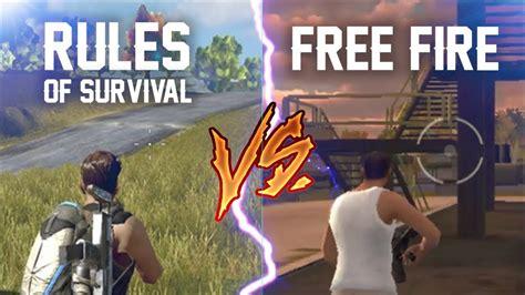 Codashop Rules Of Survival | rules of survival vs free fire menang yang mana codashop