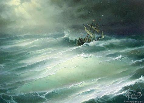 cuadros de marinas pintadas al oleo marinas pintadas al oleo en cuadros sea art pinterest