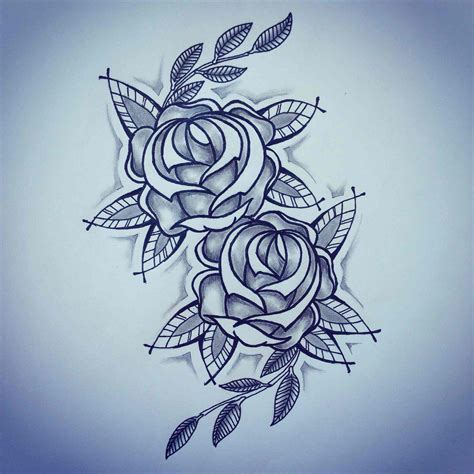 cute rose tattoos tumblr by ranz new chest drawings