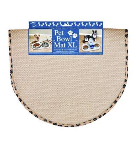Microfiber Pet Mat by Envision Home Microfiber Pet Bowl Mat Large 413000