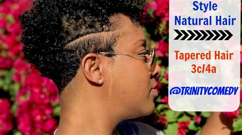 How To Style Tapered Hair by Hair Update How To Style Tapered Hair 3c 4a