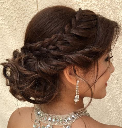 Formal Braided Hairstyles by Formal Updo Hairstyles For 2017 Hairstyles 2018 New