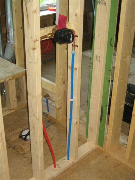 pex support through floor stub 80 best pex piping tips images on pex plumbing