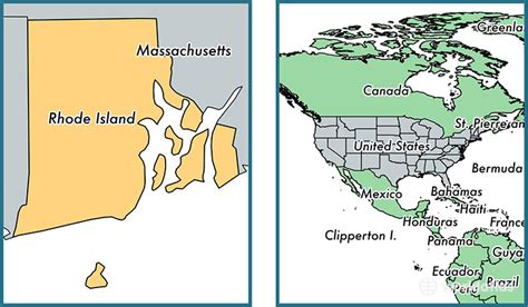 rhode island on map where is rhode island state where is rhode island