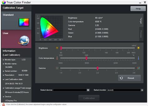 color finder i replaced my dual screen editing setup with a 34 inch