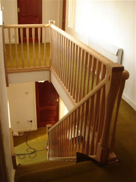 Oak Handrail Stair Spindles Staircase Balustrading Uk Distributor Spindles
