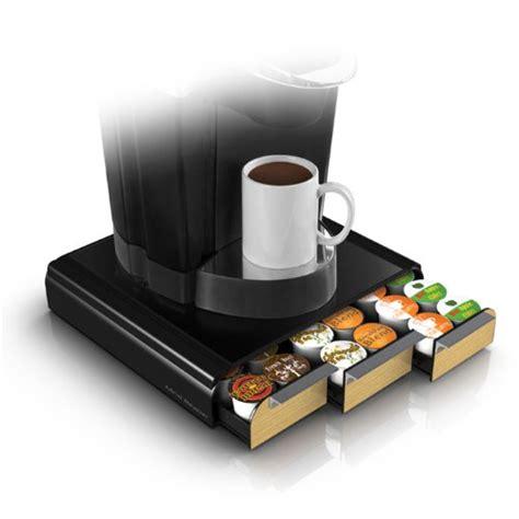 mind reader tray brn anchor coffee pod storage drawer   keurig  cup