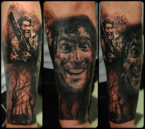 evil dead tattoo pinterest