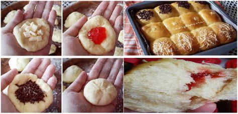 membuat roti tanpa ragi recomended resep membuat roti manis kasur sobek tanpa