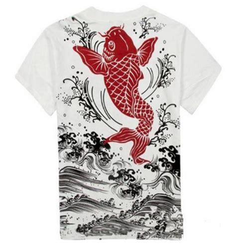 1 2 3 4 koi fish yakuza t shirt japanese tattoo dope