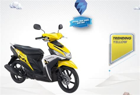 Skun Y 125 3 Yellow 187 2015 yamaha mio m3 125 blue yellow at cpu all pictures and news about