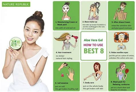 Berapa Sho Natur nature republic aloe vera 92 soothing gel from korea