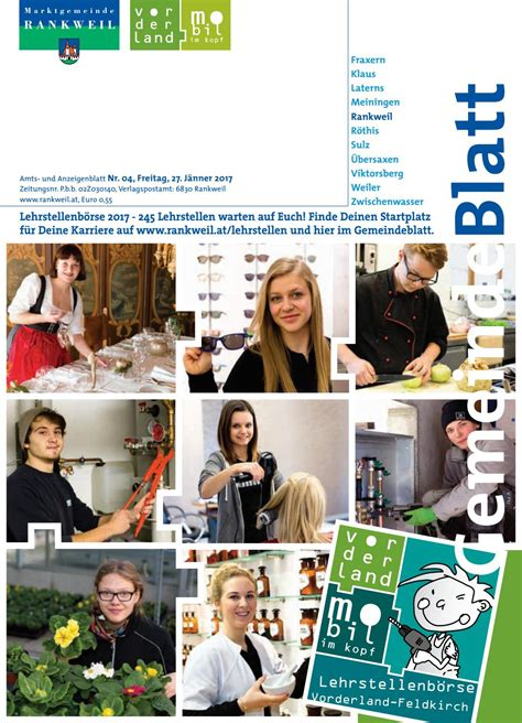 Gasthäuser In Rankweil by Gemeindeblatt Woche 04 By Rankweil Issuu