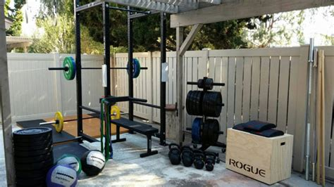 building a backyard gym inspirational garage gyms ideas gallery pg 10 garage gyms
