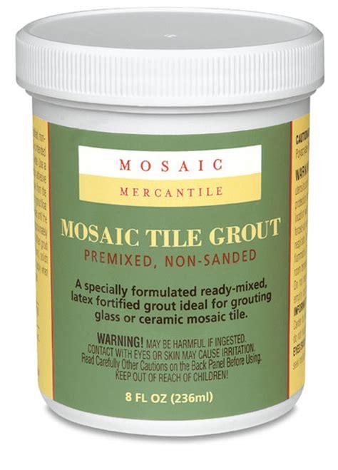 mosaic mercantile pre mixed tile grout blick art materials