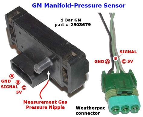 what is a map sensor using a gm map sensor for measuring manifold pressure tech edge