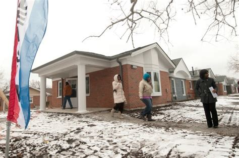 Hammond Housing Authority Unveils American Heartland Homes Hammond News Nwitimes Com