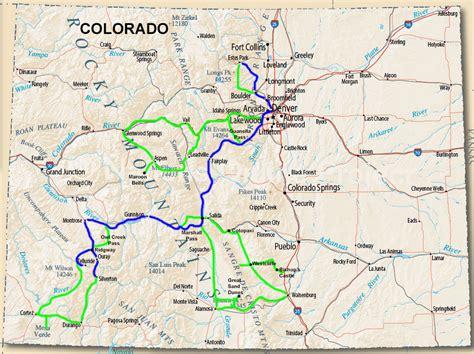 map of ridgway colorado colorado fall color travel guide 2016 jimdoty