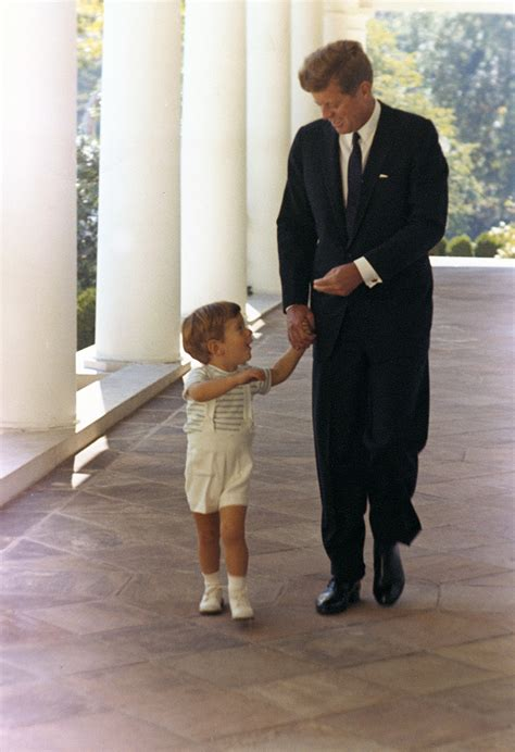 Jfk S Son | president kennedy and son john 10 october 1963 john f