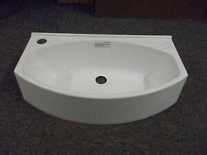 Caravan Bathroom Sinks by Elddis Compass Caravan Motorhome Bathroom White Plastic