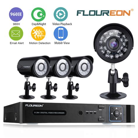floureon 8ch 960h dvr 900tvl hd cctv home surveillance