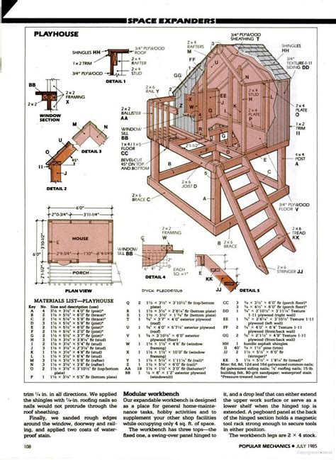 Cubby House Plans Free 7 Fabulous Cubbyhouse Plans For Your Kidz The Self Sufficient Living