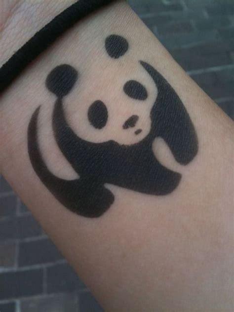 panda cub tattoo 32 best panda flower tattoo images on pinterest panda