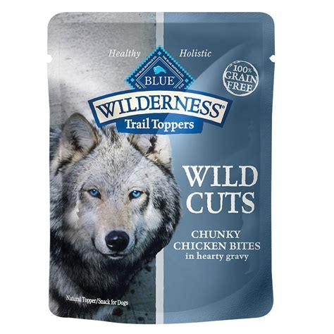 blue wilderness grain free puppy food blue wilderness 174 trail toppers grain free cuts food topper size 3 oz