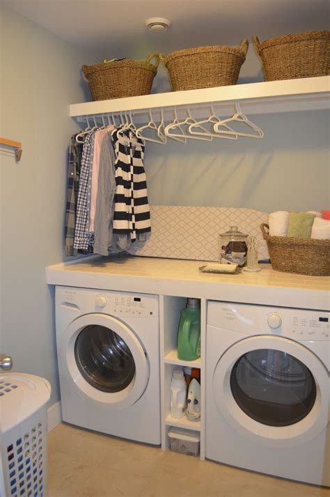 Could Totally Make This Work In Our Small Laundry Room Laundry Room Ideas