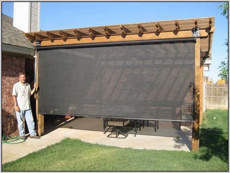 Outdoor Patio Blind by Outdoor Blinds Canada Homeminimalis Outdoor Blinds For