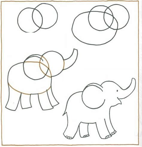 how to draw a doodle elephant 2014 07 en elefant drawing for