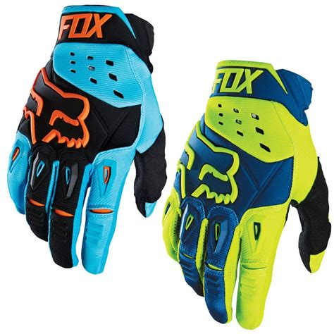 Fox Racing Pawtector Race Mens Motocross Gloves 2016 Fox