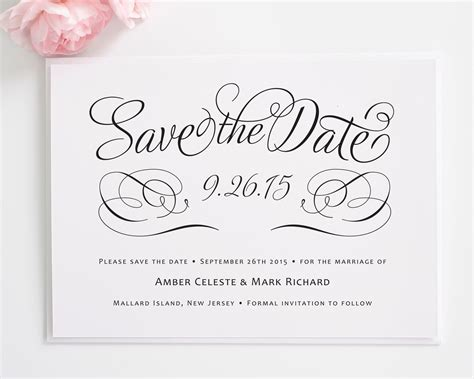 save the date cards wording template charming script save the date cards best template