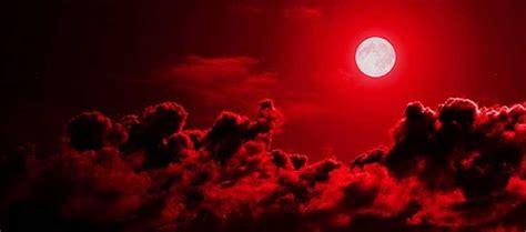 Lune De Sang Visiblement Pratiquement De Partout Sur La