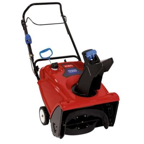 toro power clear 621 qzr 21 in single stage chute