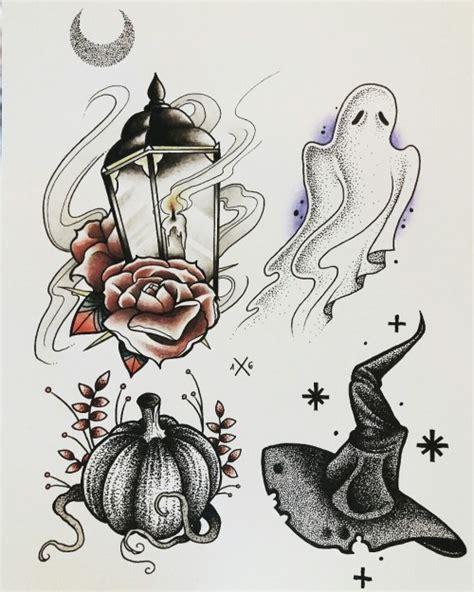 tattoo cartoon halloween halloween tattoo flash tumblr