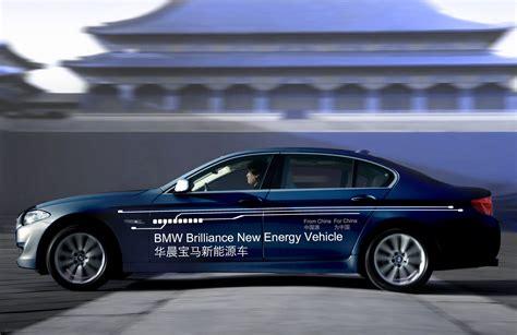 bmw 5 series electric world premiere bmw brilliance automotive 5 series in