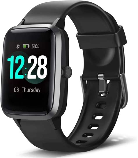 letscom smart  fitness tracker heart rate monitor