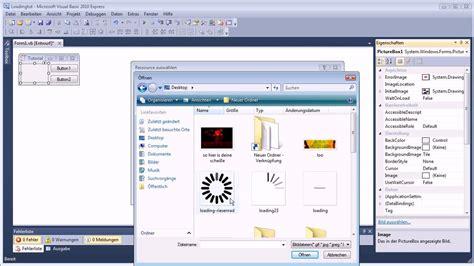 tutorial visual basic 2010 youtube visual basic 2010 08 tutorial loading style 228 ndern youtube