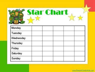 star charts kids