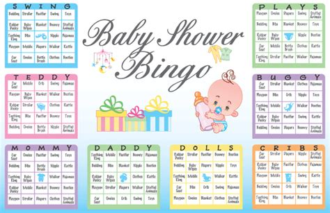 How Do You Play Baby Shower Bingo by Baby Shower Bingo Item Number Ubp Books Worth Reading