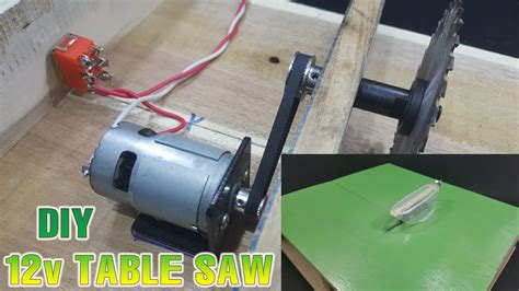 electric motor for table saw how to powerful table saw 12volt with 775 motor