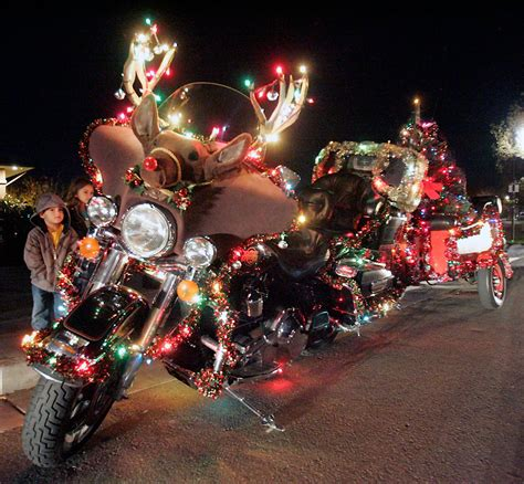 harley davidson motorcycle christmas lights melformer merry harley style