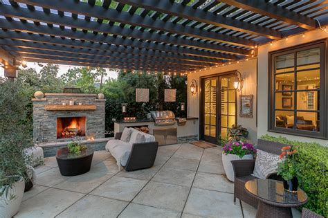 Patio Designs B Q Stunning Outdoor Spaces And Cooling Covered Patios