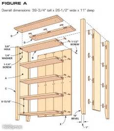 bookcase plans free built in plans diy free